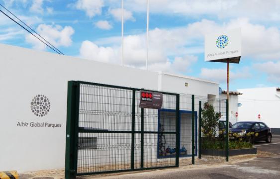 Imagem entrada do Albiz - Parque Empresarial de Sintra