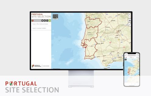 Portugal Site Selection - a web platform that helps investors to find business locations in Portugal