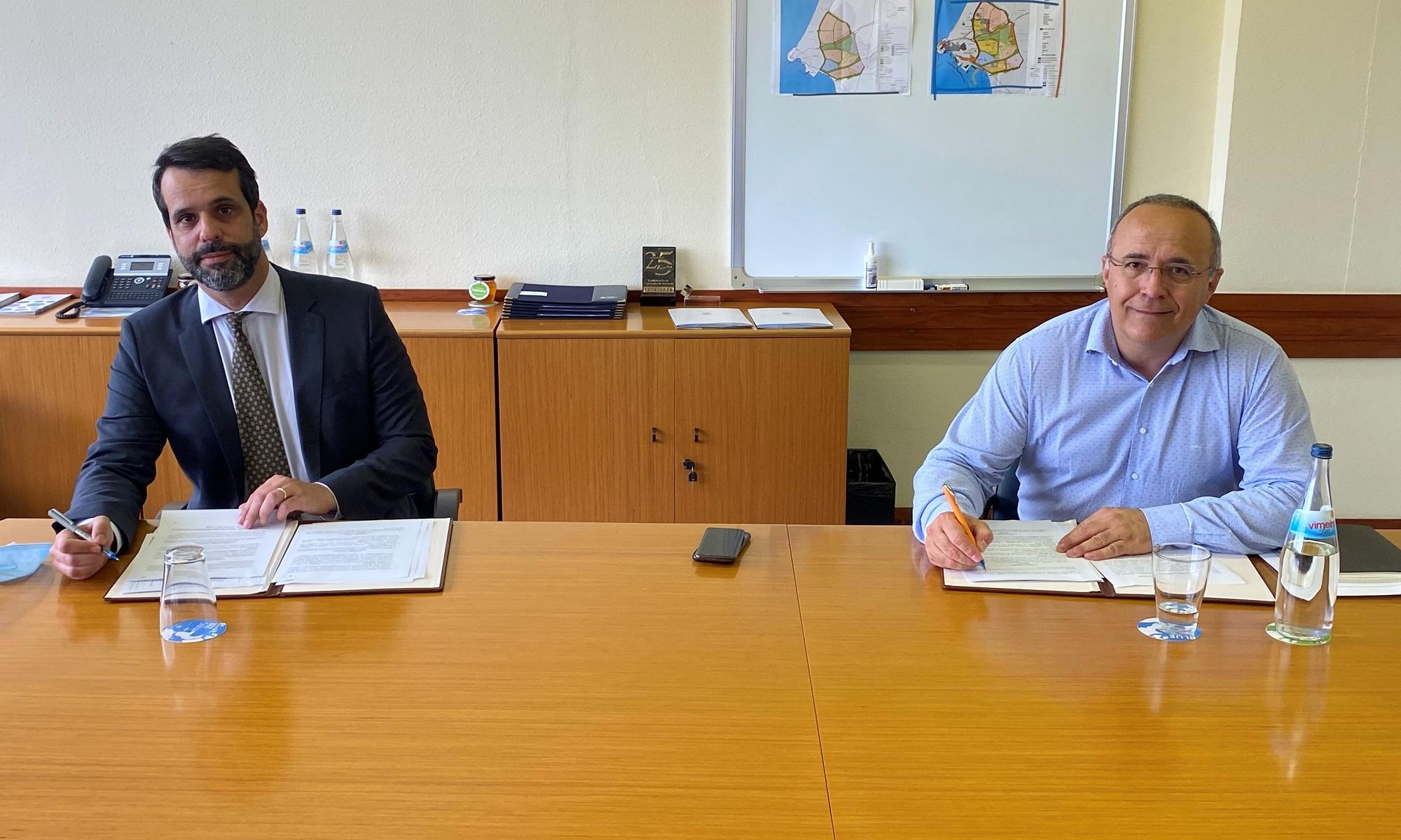 Assinatura de contrato entre a aicep Global Parques e a Repsol, para 57 ha na ZILS onde a Repsol pretende implantar um projeto de recuperação ambiental e produção de energia renovável associado ao desenvolvimento do Complexo Petroquímico da ZILS