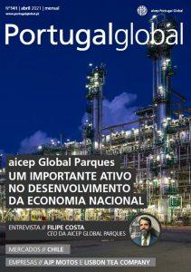 artigo aicep Global Parques Um Importante ativo no desenvolvimento da Economia Nacional na revista de abril da Portugalglobal