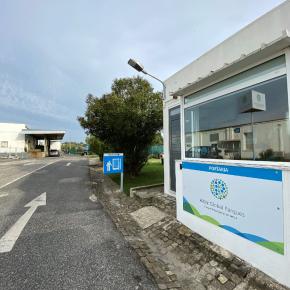 Imagem portaria do Albiz - Parque Empresarial de Sintra