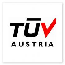 Tuv Austria logo - client installed in BlueBiz