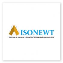 Isonewt logo - client installed in BlueBiz