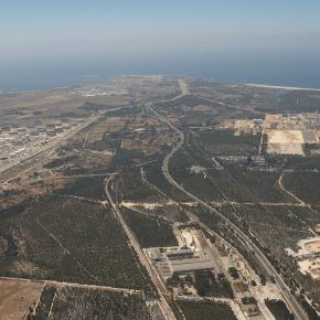 Fotografia aérea da ZILS - Zona Industrial e Logística de Sines - Indústria, Logística