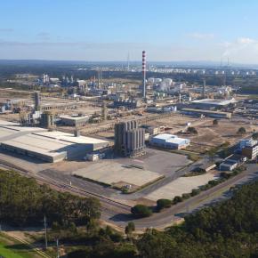Fotografia panorama da Zona 2 da ZILS - Zona Industrial e Logística de Sines